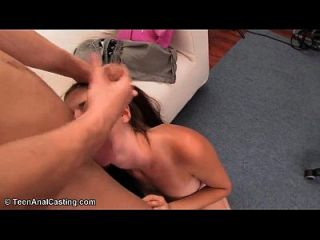 Amateur Brunette Fucked In The Ass