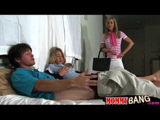 Brandi Love And Casi James Hot Ffm 3way With Pervert Dude