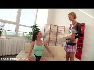Sh*t Up & F*ck! Cutie Belle Claire Catched And Banged By Two Monsters, Dp, First Time Fisted, Lo