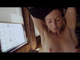 Petite Yoga Babe Trembles With Orgasm