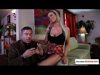 She Invites Him For... A Blowjob Wcam18.com