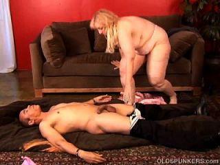 Super Sexy Mature Blonde Bbw Is A Very Hot Fuck