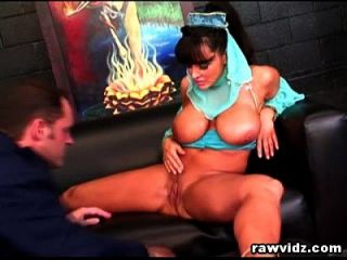 Lisa Ann Busty Genie Rides Captain