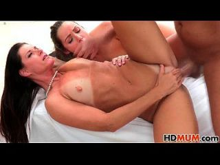 Lola Foxx And Stepmom India Summer Share Cock