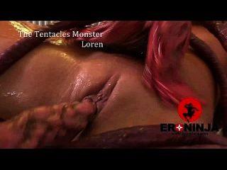 The Tentacles Monster Loren Minaldi