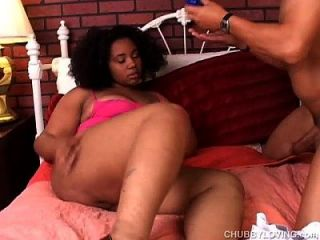 Super Cute Chubby Black Babe Is A Very Hot Fuck
