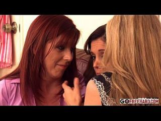 Francesca Le Julia Ann Lexi Lamour Gets Comforted By Her Milf Friend