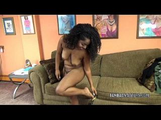 Curvy Cutie Layla Finesse Is On Her Knees And Sucking Dick