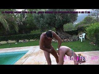 Madlifes.com - Reality Porno Español Follada Salva A Yarisa En En Jardin