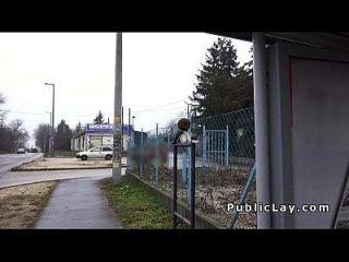 Busty Hungarian Amateur Fucks For Cash