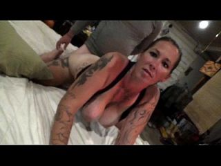 Angie Michelle Doggiestyle & Creampied With Ponytail