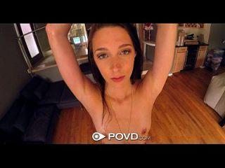 Povd - Bikini Clad Lola Hunter Brings Big Dick Home To Fill Her Pussy