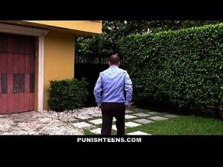 Punishteens - Sneaky Teen Fucked And Abused By Neighbor
