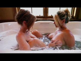 Superstar Milfs Julia Ann & Vicky Vette Getting Wet!