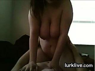Bbw Riding On Her Boyfriends Cock
