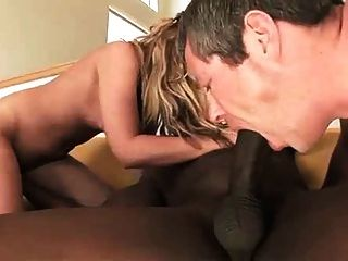 Bbc Too Big For Wife So Hubby Sucks To Help It In!!