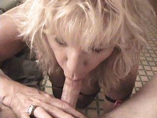 Graany Blonde Blowjob Ypp