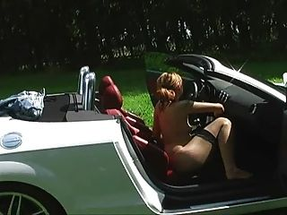 Amateur Chick Fucking Car
