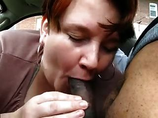 Ebony car blowjobs