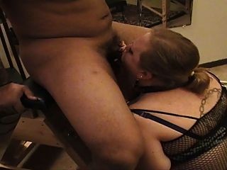 Bbc Gets Deepest Deep Throat From White Bbw