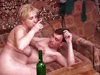 Russian Mature With Young Guy