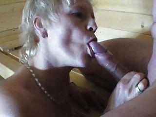 Geiler Saunafick Mit Blonder Votze - German - Csm