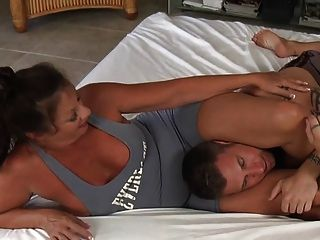 Wrestling With Mommy