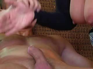 Blond Granny Fucking
