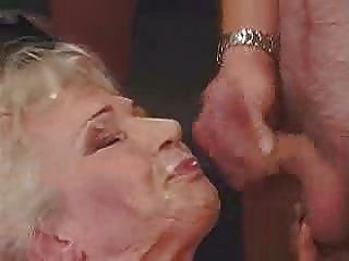Granny Gangbang And Big Facial And Cream Pie!!!