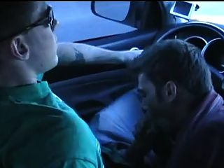 Blowjob And Hot Cumshot In The Car
