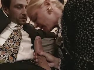 Granny And Milf In Stockings Fuck