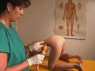 Sam gyno pussy proper examination by older doctor 10
