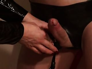 German Mistress Silvia Trains Her Sissy Maid