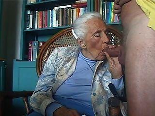 Pervert Granny Oma