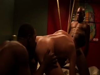 Hot Threesome 2 Black Studs & 1 White Ass