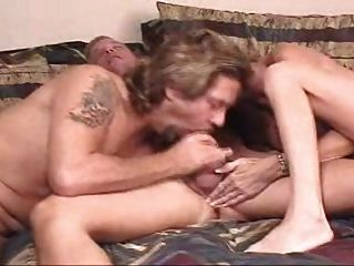 Wife promotes bisex between husband and neighbor 10