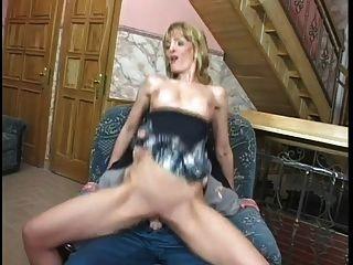 Milf Uses Her Ass To Satisfy The Handyman