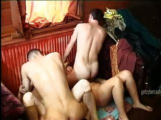 2 couples orgy