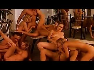 Orgy After Training(pussy & Anal) -by Babestv