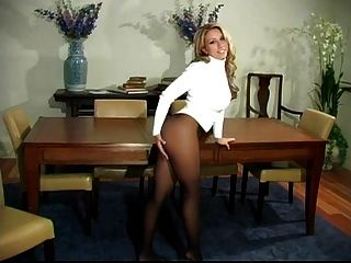 Are You Ready To Play - Pantyhose Jerk Off Encouragement