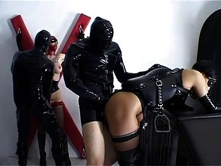 Alex d pferd und reiter hard bizzare bdsm latex sex 3
