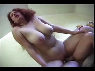 Horny Fat Chubby Maid Love Sucking And Riding Cock, P2