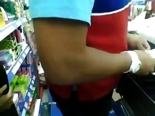 Gas Station Clerk Gets A Bj Behind The Counter