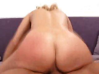 She Ensures He Fucks Her Slutty Hole Hard
