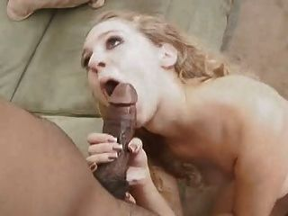 Blonde White Wife Cheats On Husband With Black Man - Interracial