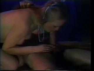 Vintage Deep Throat. Effortless Throat Fuck By Hot Blonde.