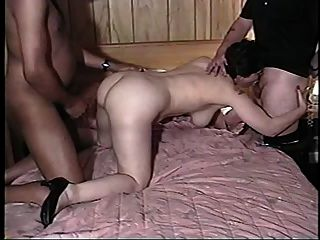 Wife, Hubby And Big Black Cock