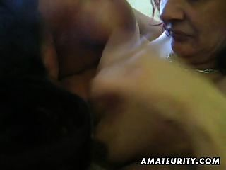 Amateur Homemade Ffm Threesome With Facial Cumshot