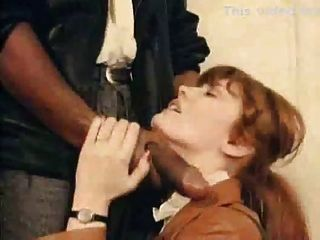 White Slut Gets Her Faced Slapped By A Big Black Cock