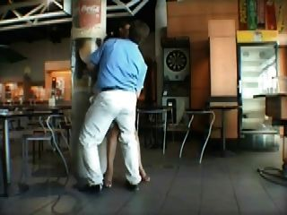 French Milf Public Sex At The Airport